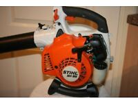 Stihl SH85 Petrol Leaf Blower and Vacuum Shredder, in immaculate condition