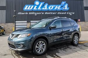 2014 Nissan Rogue SL 4WD! LEATHER! NAVIGATION! PANORAMIC ROOF! R