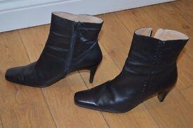 Ladies Black Ankle Boots
