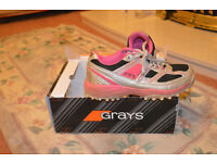 LADIES/ GIRLS GRAYS HOCKEY SHOES FOR SALE