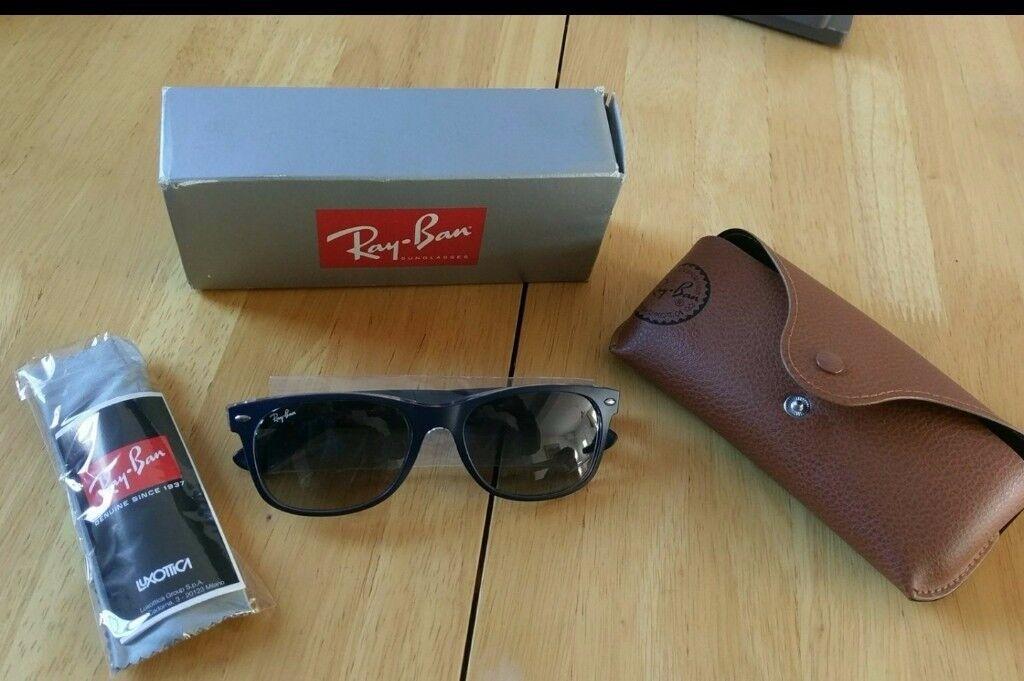 Brand New Ray Ban bicolour sunglasses - blue