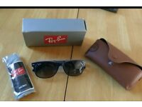 Brand New Ray Ban bicolour sunglasses - blue