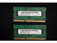 Micron 4gb (2x2gb) Pc3-12800 Macbook Pro Ram Memory Mt8jtf25664hz-1g6m1