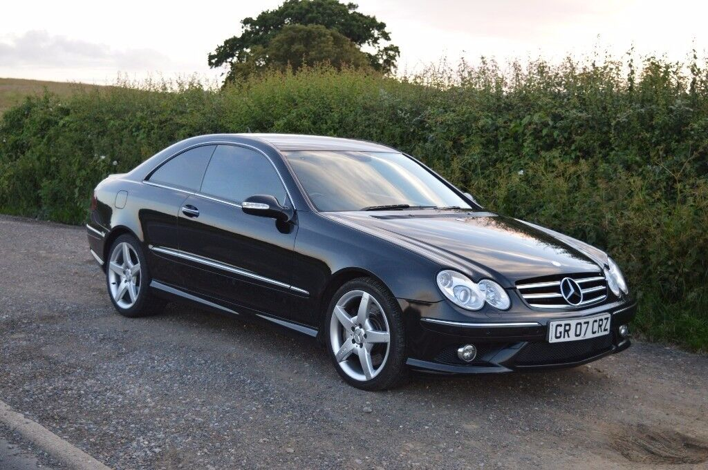 2007 mercedes clk 320 cdi sport auto 1 owner car in grays essex gumtree. Black Bedroom Furniture Sets. Home Design Ideas