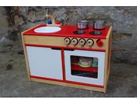 PINTOY wooden Play kitchen