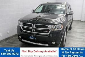 2013 Dodge Durango Crew Plus 7 PASS! NAVI! DVD! LEATHER! ROOF! H