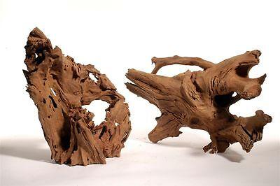 Mangrovenwurzel Deko Wurzel Aquarium Dekoration XL Holz Mangrove 40-60cm