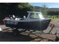 Westport Pilot 4 Fishing Cuddy Sports Boat 2017 with Mercury 40hp engine with trailer