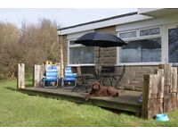 Holiday home / chalet to rent on the isle of wight. Dog friendly