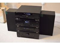 Kenwood A-54 Seperates Hifi inc Wharfdale Delta 30 speakers & remote control. Excellent Condition!