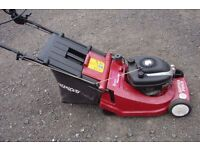 lawnmower Suffolk royal 16 inch cut self propelled roller drive