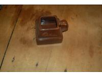 3 retro collectible mugs Smartie dark brown, Toblerone mug & Cadburys chocolate chunk mug