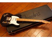 Fender USA Telecaster. Midnight Blue, 3 Pick Up, Maple Neck, 1989 with original Fender hard case