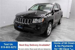 2012 Jeep Compass 4WD LIMITED w/ LEATHER! SUNROOF! ALLOYS! HEATE