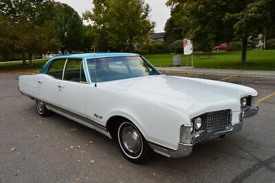 1968 Oldsmobile Ninety-Eight Town Sedan: BEAUTIFUL RARE 57K ACTUAL MILE TWO OWNER SURVIVOR 1968 OLDSMOBILE 98 TOWN SEDAN