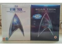 Star trek blu Ray boxsets in great condition