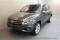 2012 Volkswagen Tiguan AWD 4MOTION! PANO SUNROOF! HEATED LEATHER