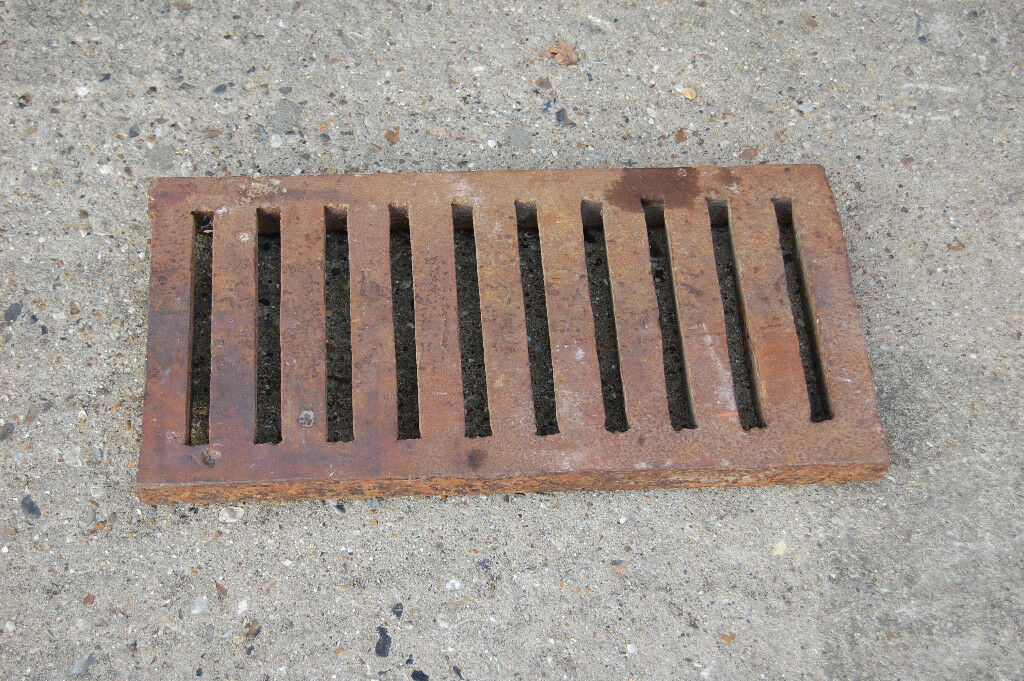 RECLAIMED VERY HEAVY DUTY CAST IRON TRENCH DRAIN GRATES | in Norwich,  Norfolk | Gumtree
