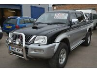 2003 Mitsubishi L200 IN GOOD CONDITION WITH MOT UNTIL 2017 AUGUST