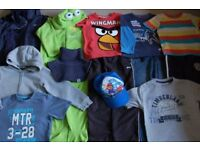 Bundle of clothes for boy 5 - 6 years.