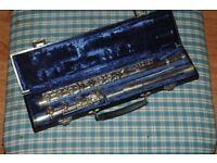 Gemeinhardt 3SHB solid silver flute
