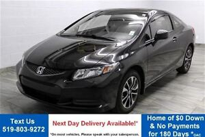 2013 Honda Civic EX COUPE! SUNROOF! ALLOYS! POWER PACKAGE! CRUIS