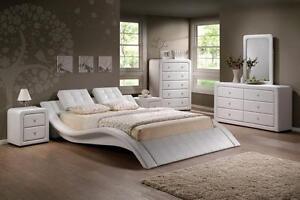 QUEEN BEDROOM SET- BRAND NEW Modern Style  8 PCS Bedroom Set Sale (AD 124)