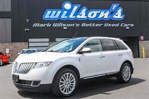 2011 Lincoln MKX 3.7L V6 AWD! LEATHER! NAVIGATION! SUNROOF! $106