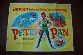 peter pan ' original cinema poster