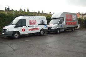 Need a Van? ...im Your Man ( MAN AND VAN - REMOVALS - HOUSE MOVES - COURIER - 24/7 - VAN HIRE )