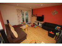A two double bedroom ground floor apartment. Large reception, separate kitchen, bathroom.