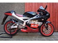 Aprilia RS 125 Full Power Motorbike