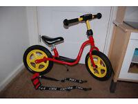 Puky LR 1L Balance bike and carry strap