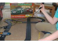 Scalextric car race game