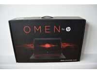 HP Omen 17 gaming laptop (GTX 1060 6gb, i5, 128ssd, 1TB) **BRAND NEW CONDITION**