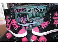 Zinc Retro Skates Size 5 boxed worn once