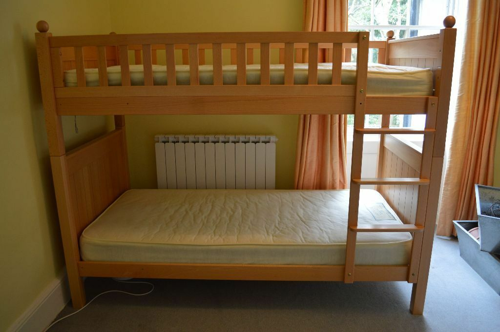 Aspace new england bunk bed with mattresses in camden for Gumtree bunk beds