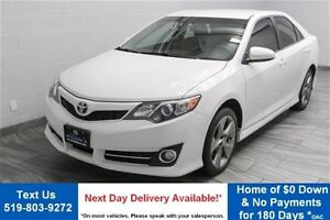 2014 Toyota Camry SE w/ NAVIGATION! PARTIAL LEATHER! REVERSE CAM