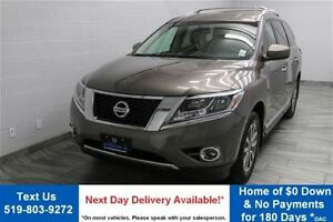 2014 Nissan Pathfinder SL 4WD w/ LEATHER! REVERSE CAMERA! ALLOYS