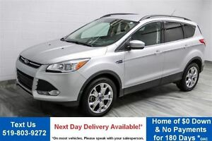 2015 Ford Escape SE $68/WK, 5.49% ZERO DOWN! 4WD LEATHER! HEATED