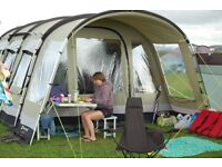 Outwell Wolf Lake 5 - 5 person PolyCotton Tent with Carpet & Footprint