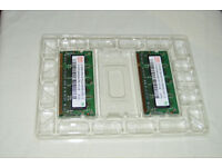 LAPTOP MEMORY 1 GB 2 x 512