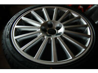 VW Volkswagen MK4 Golf R32 Aristo Style Alloy Wheels 5x100 18 inch BRAND NEW ALLOYS and Tyres for sale  Portadown, County Armagh