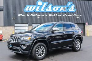 2016 Jeep Grand Cherokee LIMITED 4WD! LEATHER! SUNROOF! HEATED S