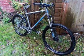 "On-One 456 EVO II Raw / Steel Mountain Bike (Size: 20"")"