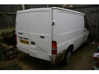 Ford Transit van parts breaking two vans can be seen working