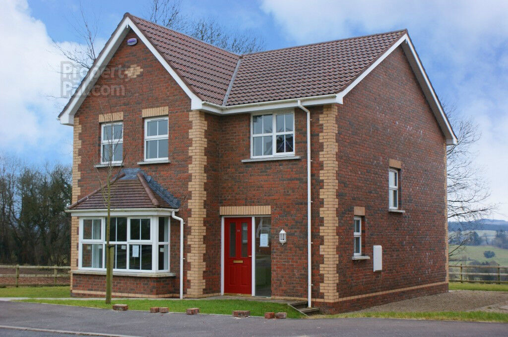 DETACHED FOUR Bedroom High Quality Red Brick Residence FIVEMILETOWN, CO.  Tyrone, Northern Ireland