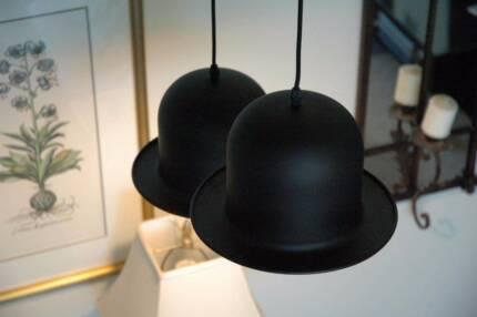 Lamp Shades   Bowler Hat Pendant Lamps