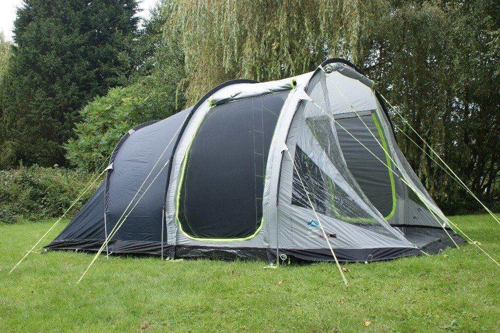 Sunc& Ventura 4 Berth family tent 3 Pole tunnel tent design quick u0026 easy & Suncamp Ventura 4 Berth family tent 3 Pole tunnel tent design ...