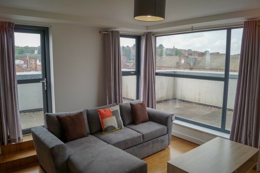 Elegant Three (03) Bedroom Penthouse Style Apartment, Nr Centre Of Leeds, For Rent,  Book Your Viewing Now !!